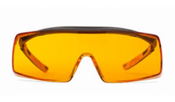 Cube orange glasses