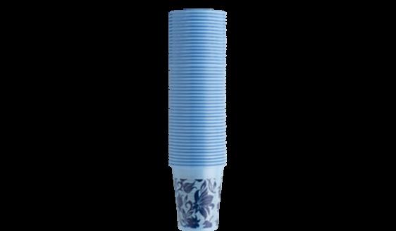 Floral Light blue